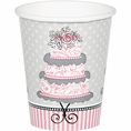 Elegant Wedding 9 oz Cups
