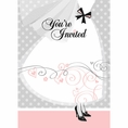 Elegant Wedding & Bridal Shower Invitations