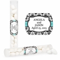 Elegant Wedding Custom Candy Tubes