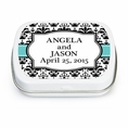 Elegant Wedding Custom Mint Tins