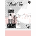 Elegant Wedding & Bridal Shower Thank You Notes