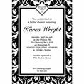 Ever After Bridal Shower Custom Invitation