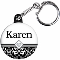 Ever After Bridal Shower Custom Keychain
