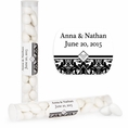 Ever After Custom Wedding Candy Tubes