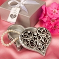 Heart Shaped Curio Box Favor