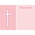 Faith Pink Custom Thank You Note