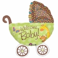 Fisher Price Baby Buggy SuperShape Balloon