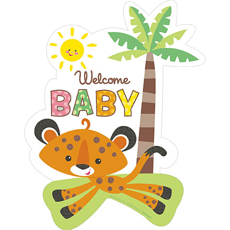 Fisher Price Baby Cutout