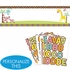 Customizable Fisher Price Baby Shower Giant Party Banner measuring 65 inches long by 20 inches tall