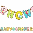 Fisher Price Baby Party Banner
