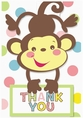 Fisher Price Baby Thank You Cards