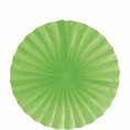 "Fresh Lime 16"" Tissue Fan"