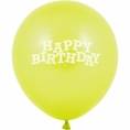 Fresh Lime Happy Birthday Balloons