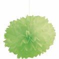 Fresh Lime Pom Pom Tissue Decorations
