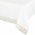 Gold Damask Table Cover