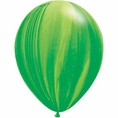 Green Agate Latex Balloons