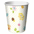 Happi Tree Owl Baby Shower 9 oz Paper Cups