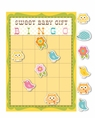 Happi Tree Owl Baby Shower Gift Bingo Game