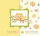 Happi Tree Owl Baby Shower Invitations - Bulk