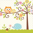 Happi Tree Owl Baby Shower Luncheon Napkins