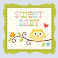 Happi Tree Boy Owl Baby Shower Drink Napkins
