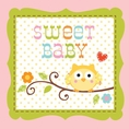 Happi Tree Girl Owl Baby Shower Drink Napkins