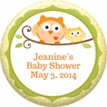Happi Tree Owl Baby Shower Custom Magnet