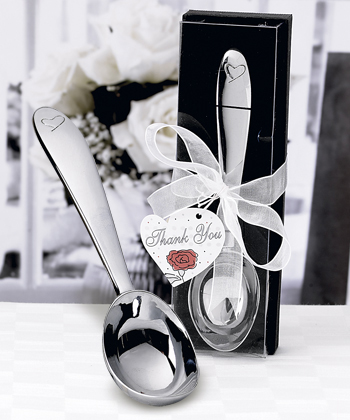Heart Design Ice Cream Scoop - Deluxe Box