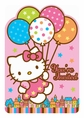 Hello Kitty Balloon Dreams Invitation