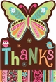 Hippie Chick Thank You Notes