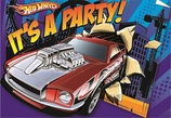 Hot Wheels Speed City Folded Invite
