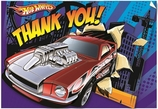 Hot Wheels Speed City Folded Thank You