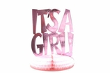 """It's A Girl"" Shower Supplies"