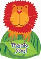 Jungle Animals Thank You Notes