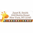 Jungle Baby Shower Custom Address Labels