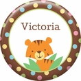 Jungle Baby Shower Custom Button