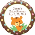 Jungle Baby Shower Custom Magnet
