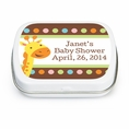 Jungle Baby Shower Custom Mint Tins