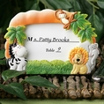 Jungle Critters Placecard Frame