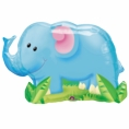 "Jungle Elephant 33"" Foil Balloon"