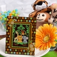 Jungle Monkey Design Picture Frames / Placecard Holders