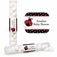 Ladybug Fancy Baby Shower Custom Candy Tubes