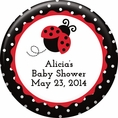 Ladybug Fancy Baby Shower Custom Magnet