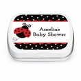 Ladybug Fancy Baby Shower Custom Mint Tins