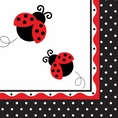 Ladybug Fancy Luncheon Napkins - Generic