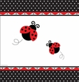 Ladybug Fancy Party Decorative Tablecover