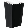 Large Black Popcorn Boxes
