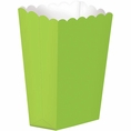 Large Lime Green Popcorn Boxes