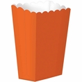 Large Orange Popcorn Boxes