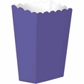 Large Purple Popcorn Boxes